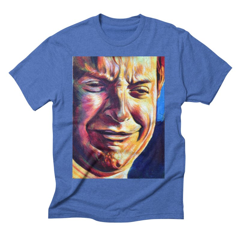 sad tobey Men's Triblend T-Shirt by paintings by Seamus Wray