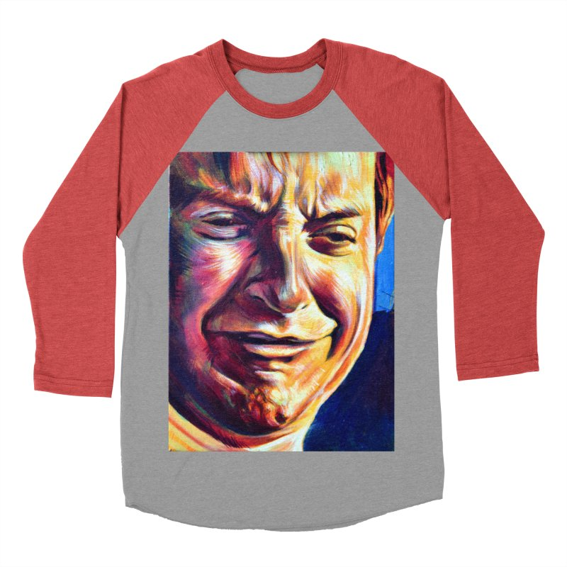 sad tobey Women's Baseball Triblend Longsleeve T-Shirt by paintings by Seamus Wray