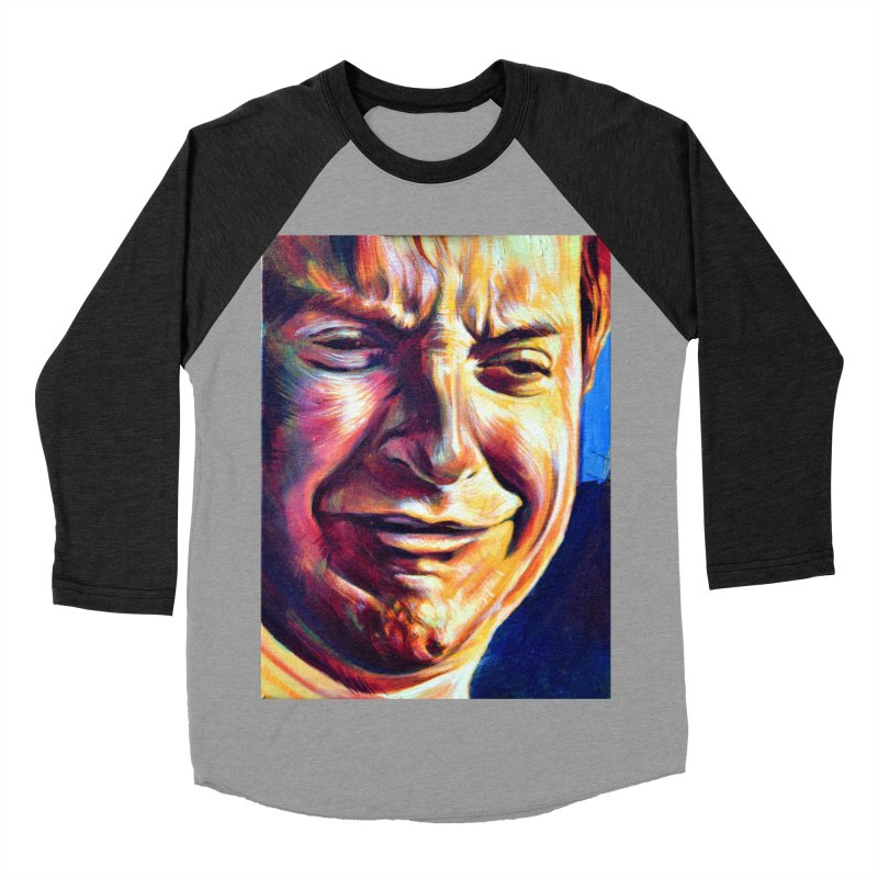 sad tobey Men's Baseball Triblend Longsleeve T-Shirt by paintings by Seamus Wray
