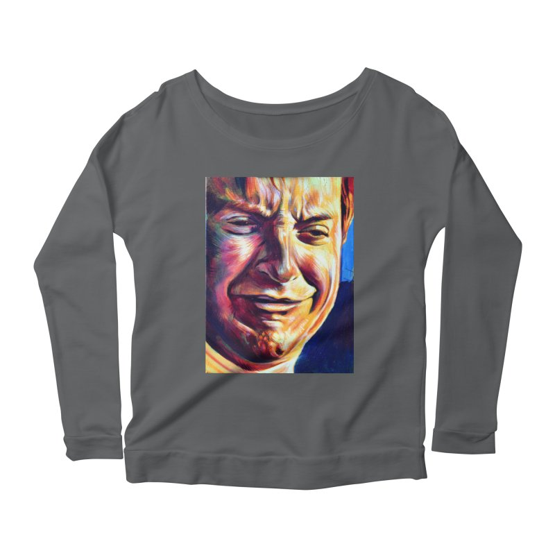 sad tobey Women's Longsleeve T-Shirt by paintings by Seamus Wray