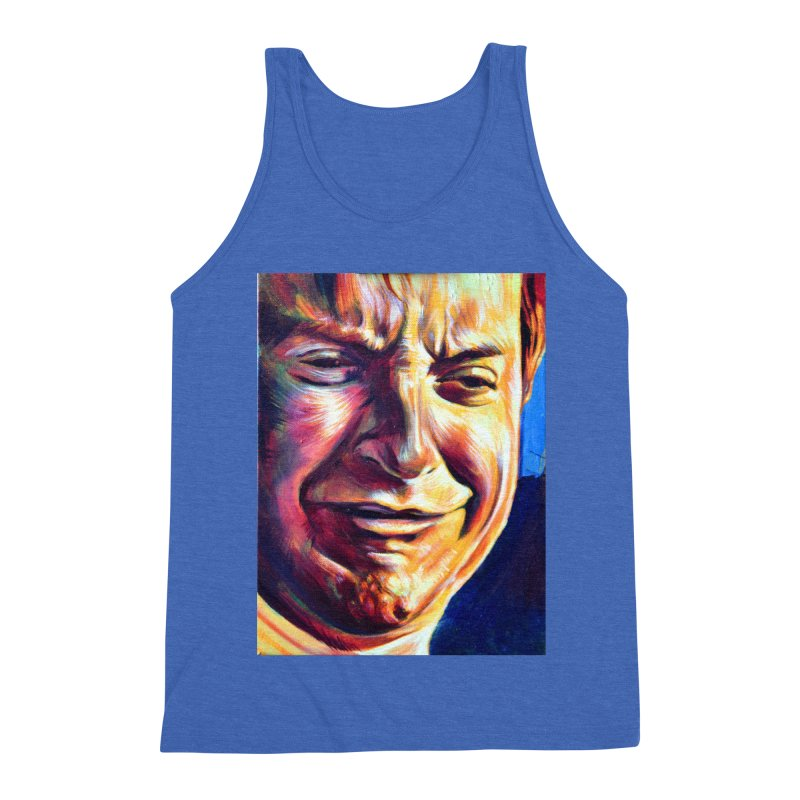 sad tobey Men's Triblend Tank by paintings by Seamus Wray
