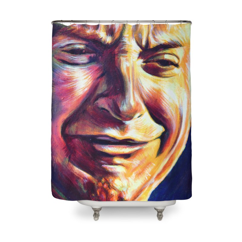 sad tobey Home Shower Curtain by paintings by Seamus Wray