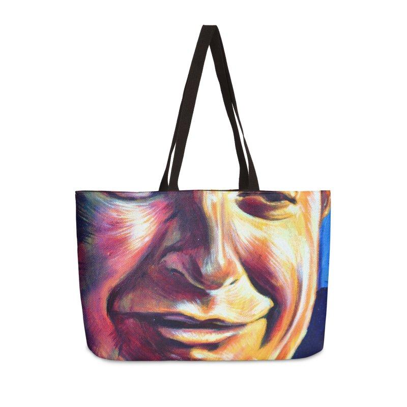 sad tobey Accessories Weekender Bag Bag by paintings by Seamus Wray
