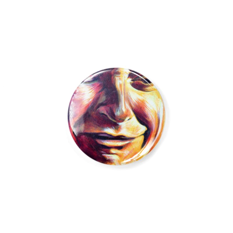 sad tobey Accessories Button by paintings by Seamus Wray