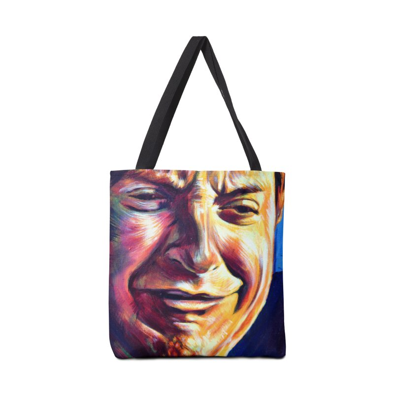 sad tobey Accessories Tote Bag Bag by paintings by Seamus Wray