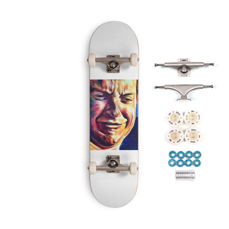 sad tobey Accessories Complete - Premium Skateboard by paintings by Seamus Wray