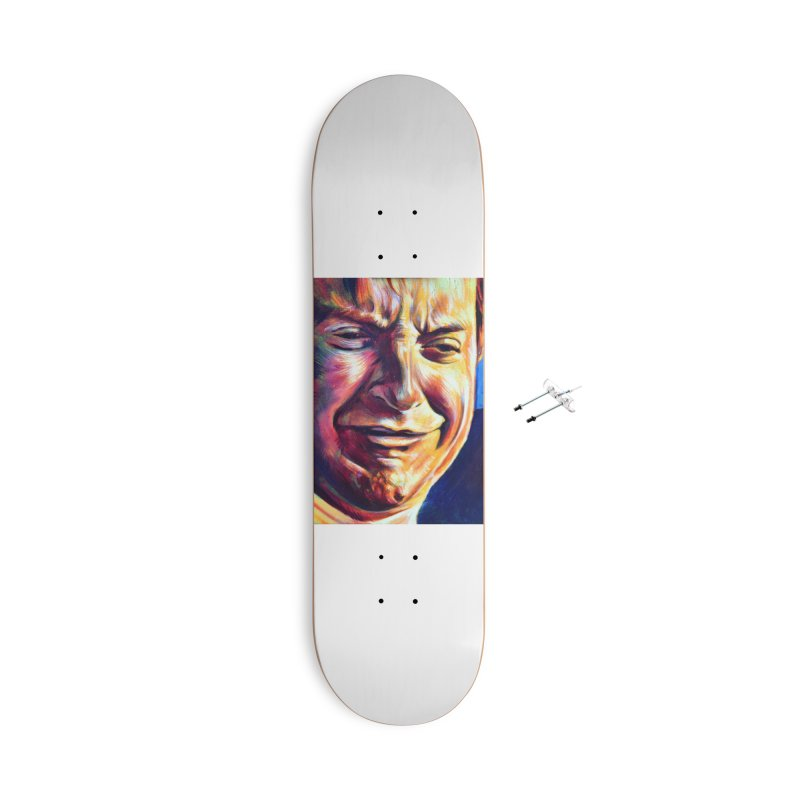 sad tobey Accessories With Hanging Hardware Skateboard by paintings by Seamus Wray
