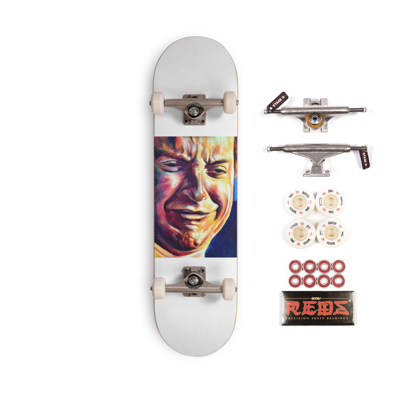 sad tobey Accessories Complete - Pro Skateboard by paintings by Seamus Wray