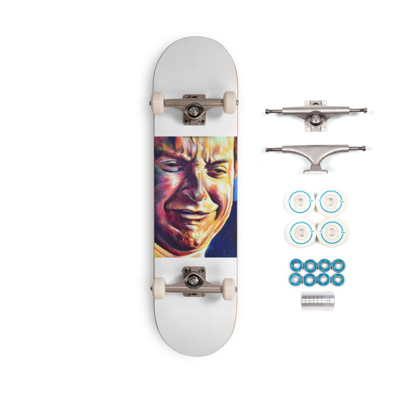 """sad tobey Accessories Skateboard by Art Prints by Seama available under """"Home"""""""
