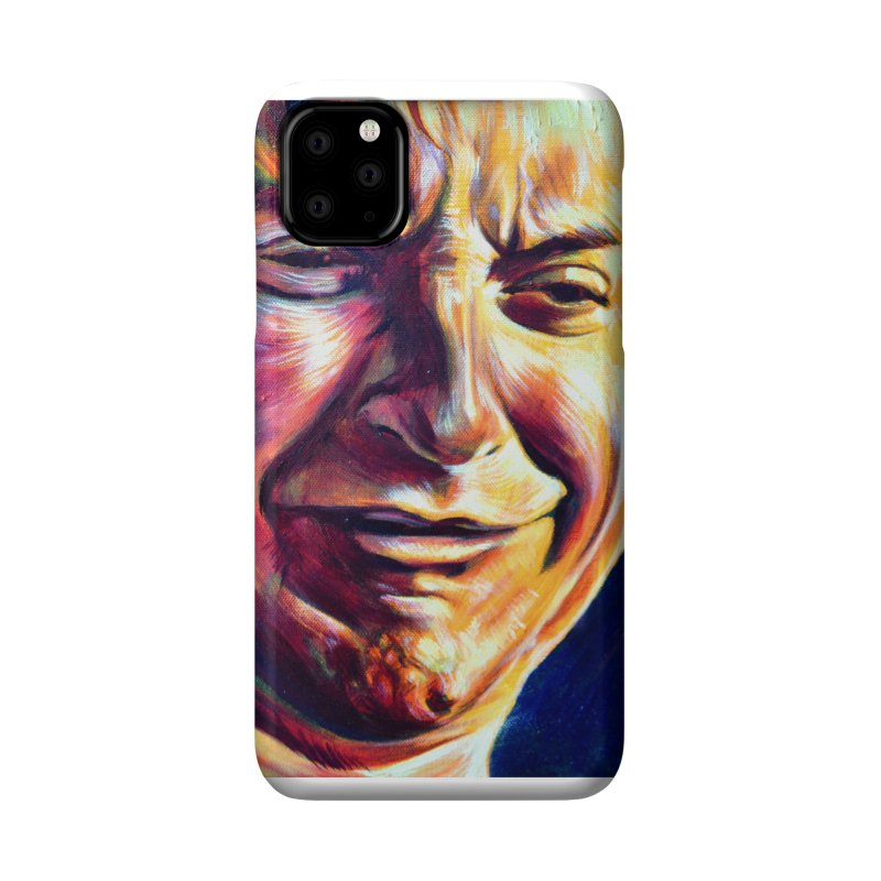 sad tobey Accessories Phone Case by paintings by Seamus Wray