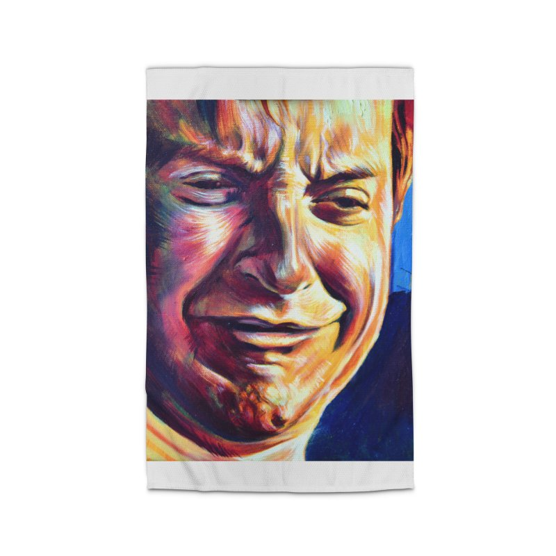 sad tobey Home Rug by paintings by Seamus Wray