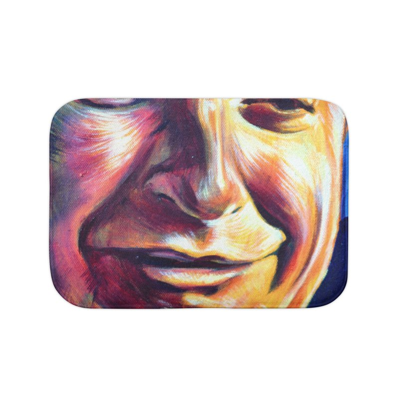 sad tobey Home Bath Mat by paintings by Seamus Wray