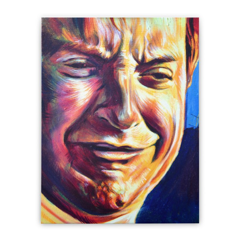 sad tobey Home Stretched Canvas by paintings by Seamus Wray