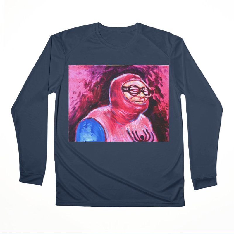 spider-man Men's Performance Longsleeve T-Shirt by paintings by Seamus Wray