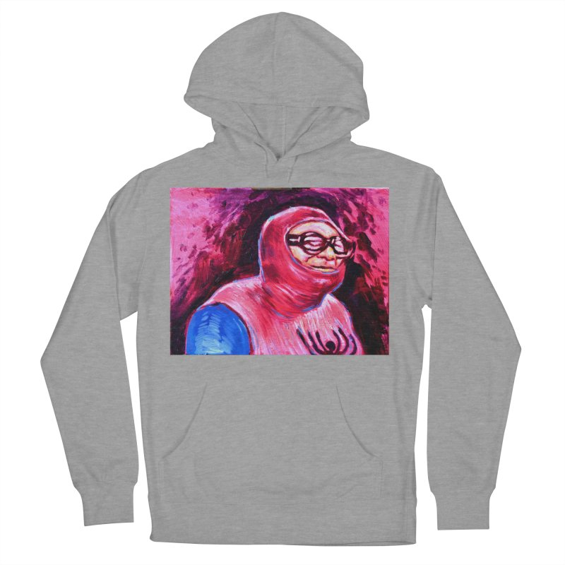 spider-man Women's French Terry Pullover Hoody by paintings by Seamus Wray