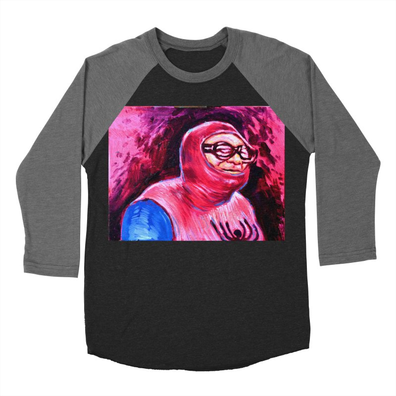 spider-man Women's Baseball Triblend Longsleeve T-Shirt by paintings by Seamus Wray