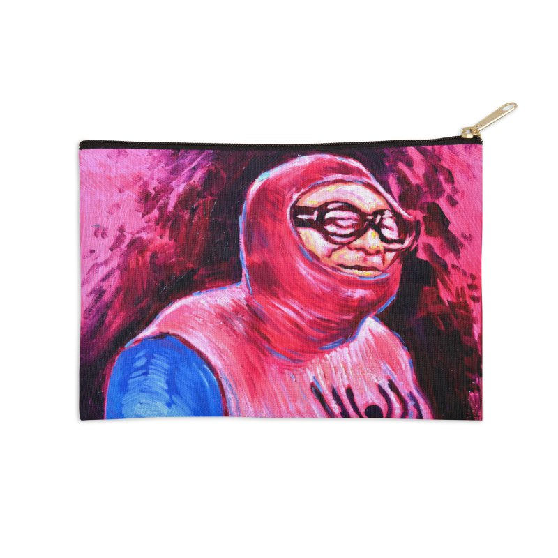 spider-man Accessories Zip Pouch by paintings by Seamus Wray