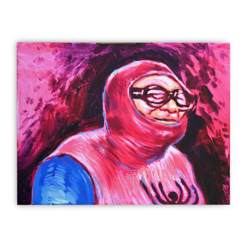 spider-man Home Stretched Canvas by paintings by Seamus Wray