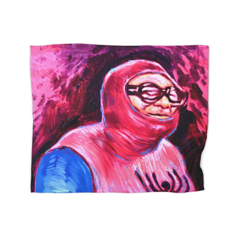 spider-man Home Fleece Blanket Blanket by paintings by Seamus Wray