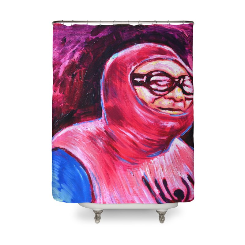 "spider-man Home Shower Curtain by Art Prints by Seama available under ""Home"""