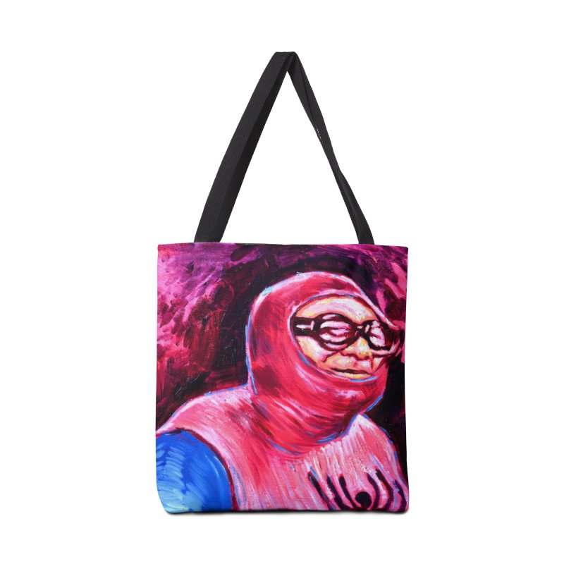 spider-man Accessories Tote Bag Bag by paintings by Seamus Wray