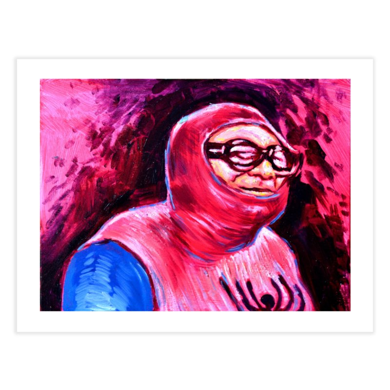spider-man Home Fine Art Print by paintings by Seamus Wray