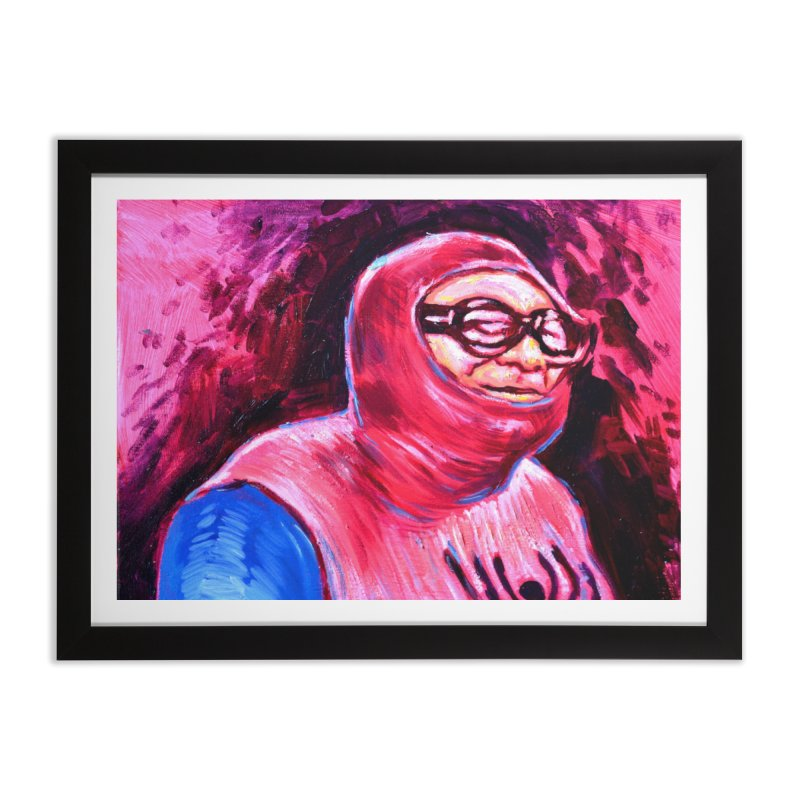 spider-man Home Framed Fine Art Print by paintings by Seamus Wray
