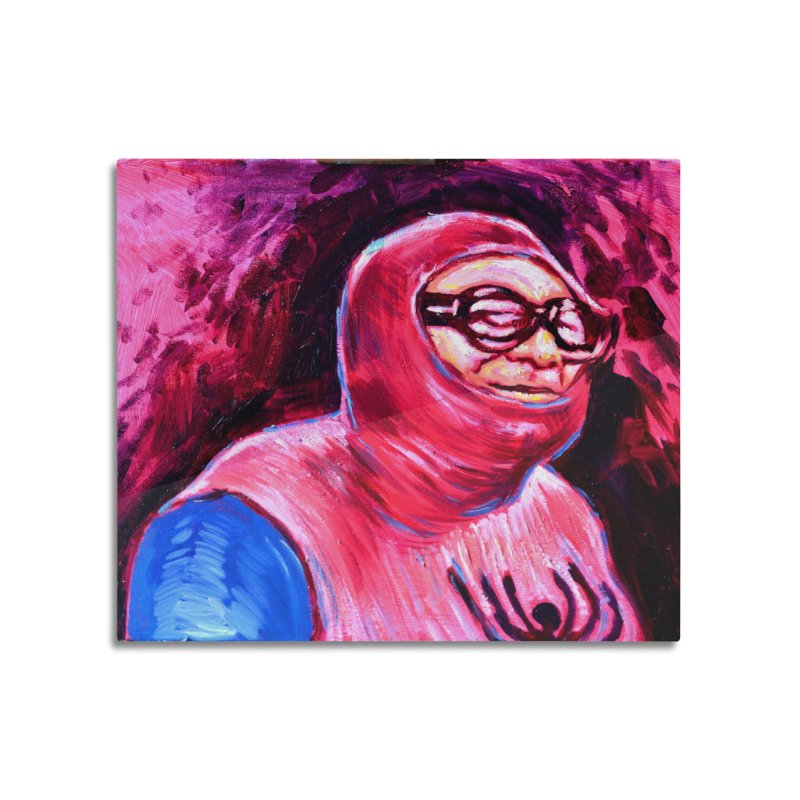 spider-man Home Mounted Aluminum Print by paintings by Seamus Wray