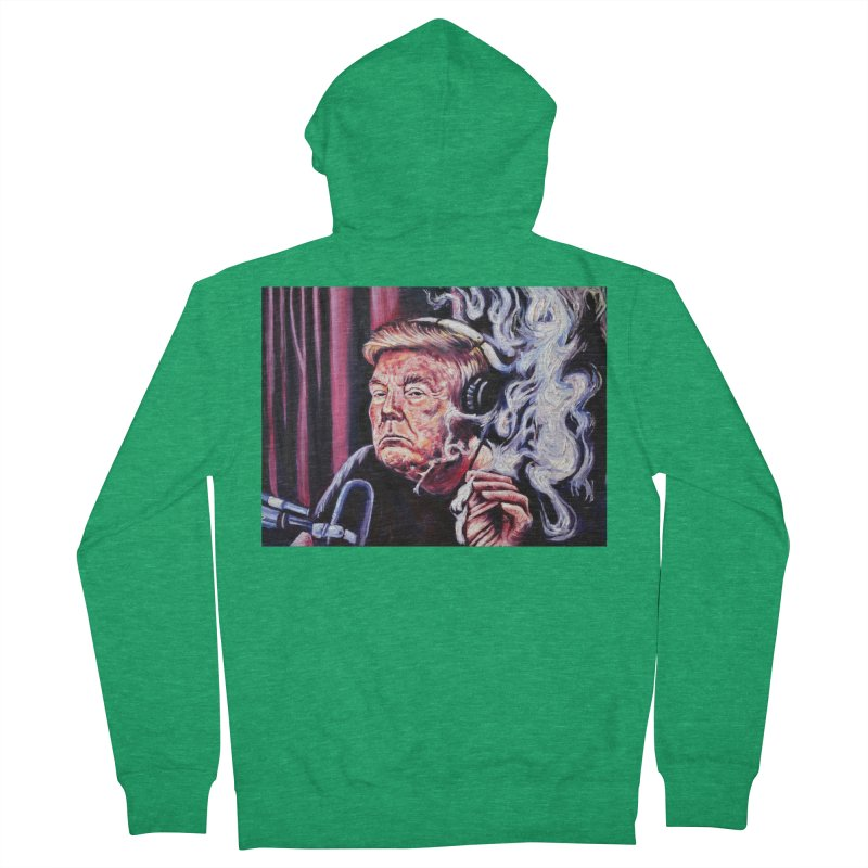"smoking donald Men's Zip-Up Hoody by Art Prints by Seama available under ""Home"""