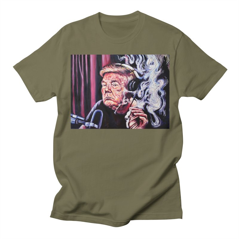 "smoking donald Men's T-Shirt by Art Prints by Seama available under ""Home"""