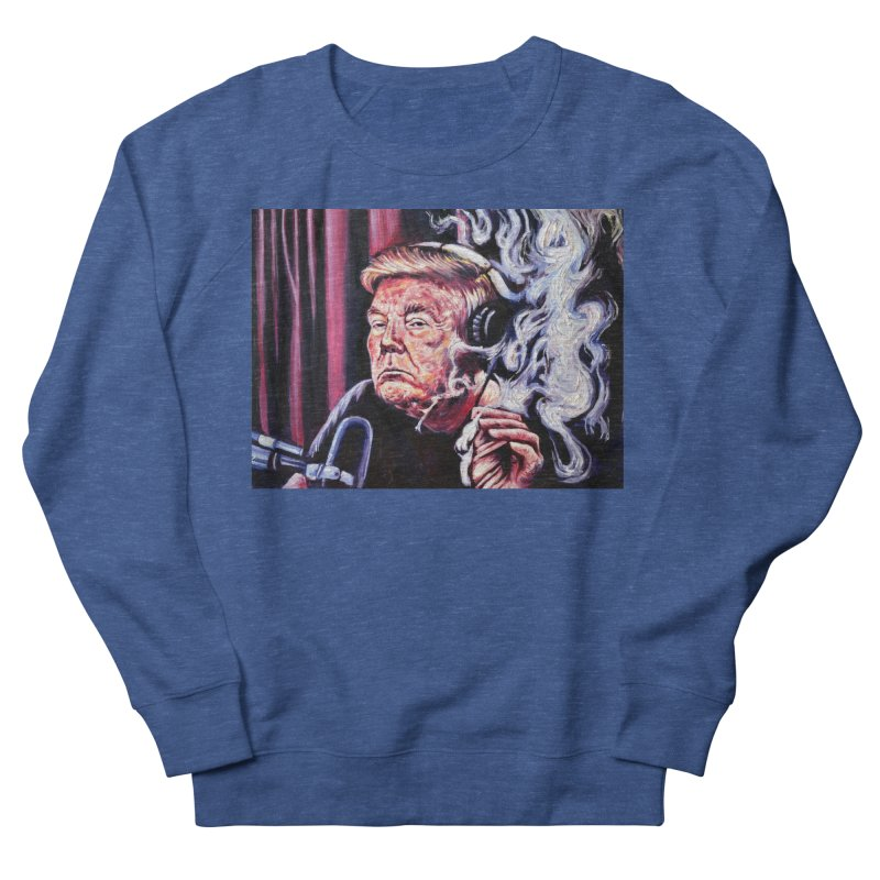 """smoking donald Men's Sweatshirt by Art Prints by Seamus Wray available under """"Home"""""""