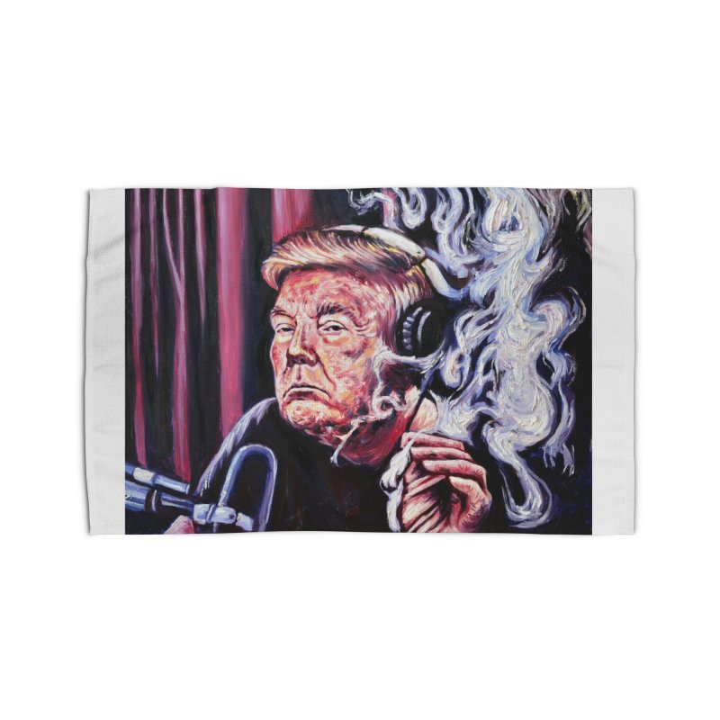 smoking donald Home Rug by paintings by Seamus Wray
