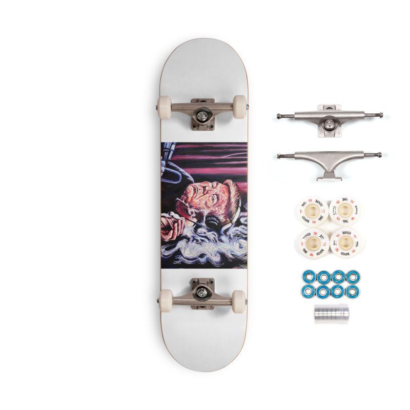 smoking donald Accessories Complete - Premium Skateboard by paintings by Seamus Wray