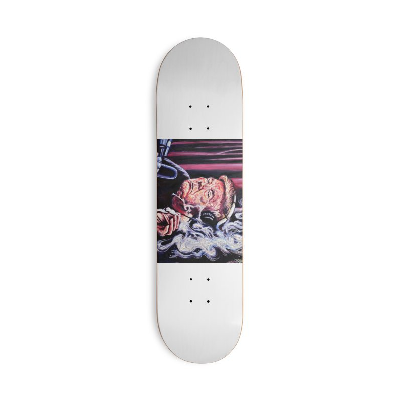 smoking donald Accessories Deck Only Skateboard by paintings by Seamus Wray