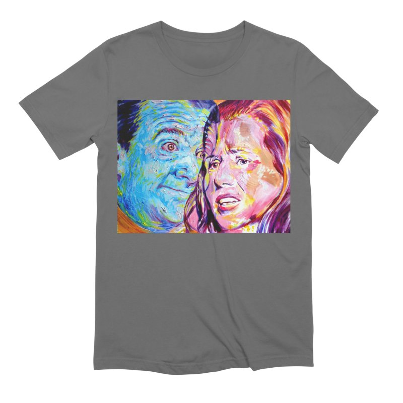 the exact moment Men's Extra Soft T-Shirt by paintings by Seamus Wray