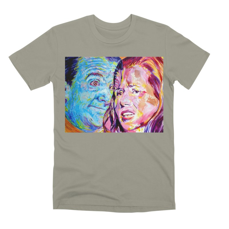 the exact moment Men's Premium T-Shirt by paintings by Seamus Wray
