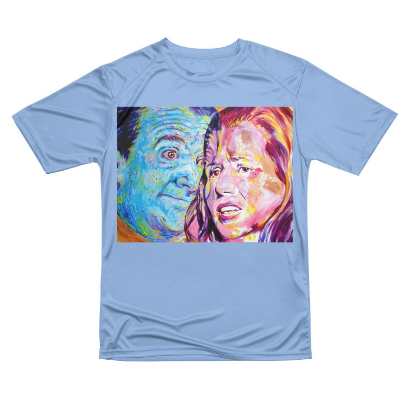 the exact moment Women's Performance Unisex T-Shirt by paintings by Seamus Wray