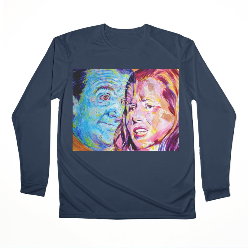 the exact moment Women's Performance Unisex Longsleeve T-Shirt by paintings by Seamus Wray