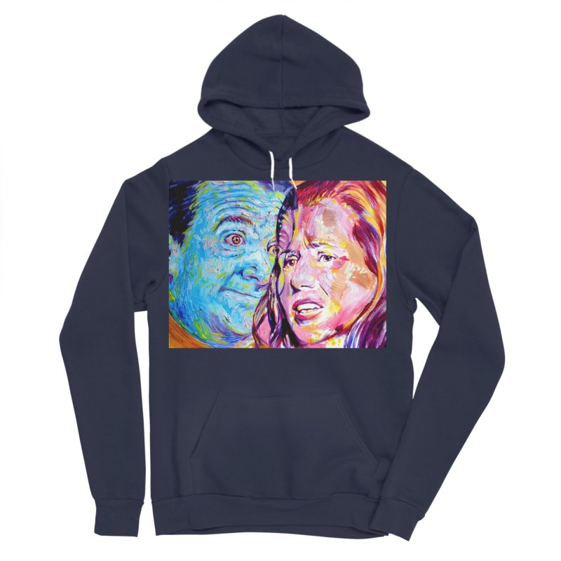 the exact moment Women's Sponge Fleece Pullover Hoody by paintings by Seamus Wray
