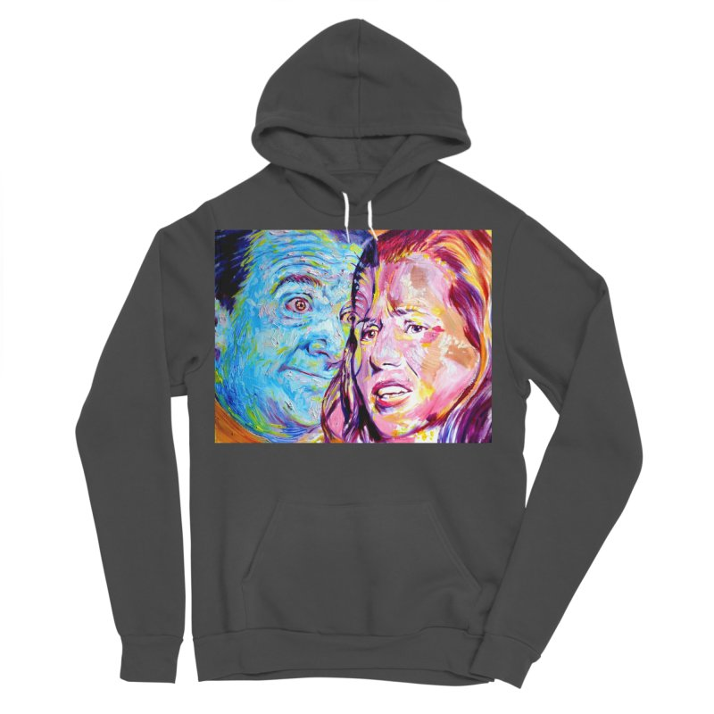 the exact moment Men's Sponge Fleece Pullover Hoody by paintings by Seamus Wray