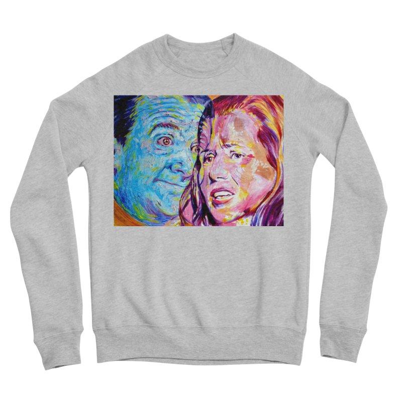 the exact moment Women's Sponge Fleece Sweatshirt by paintings by Seamus Wray
