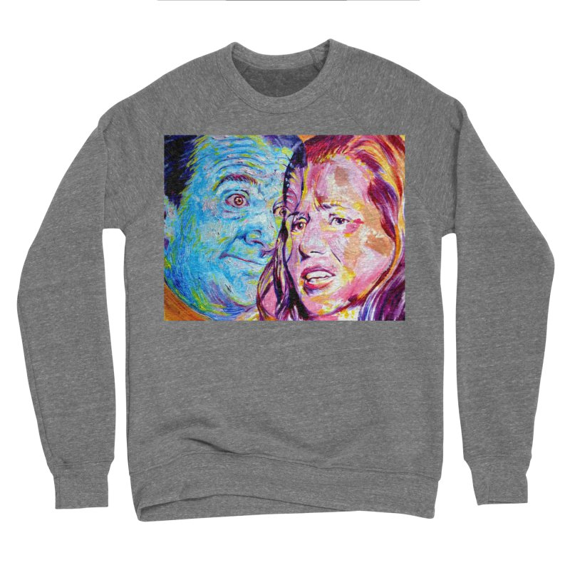 the exact moment Women's Sponge Fleece Sweatshirt by paintings by Seamus Wray