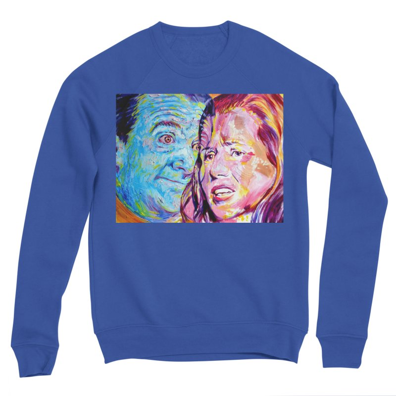 the exact moment Men's Sponge Fleece Sweatshirt by paintings by Seamus Wray