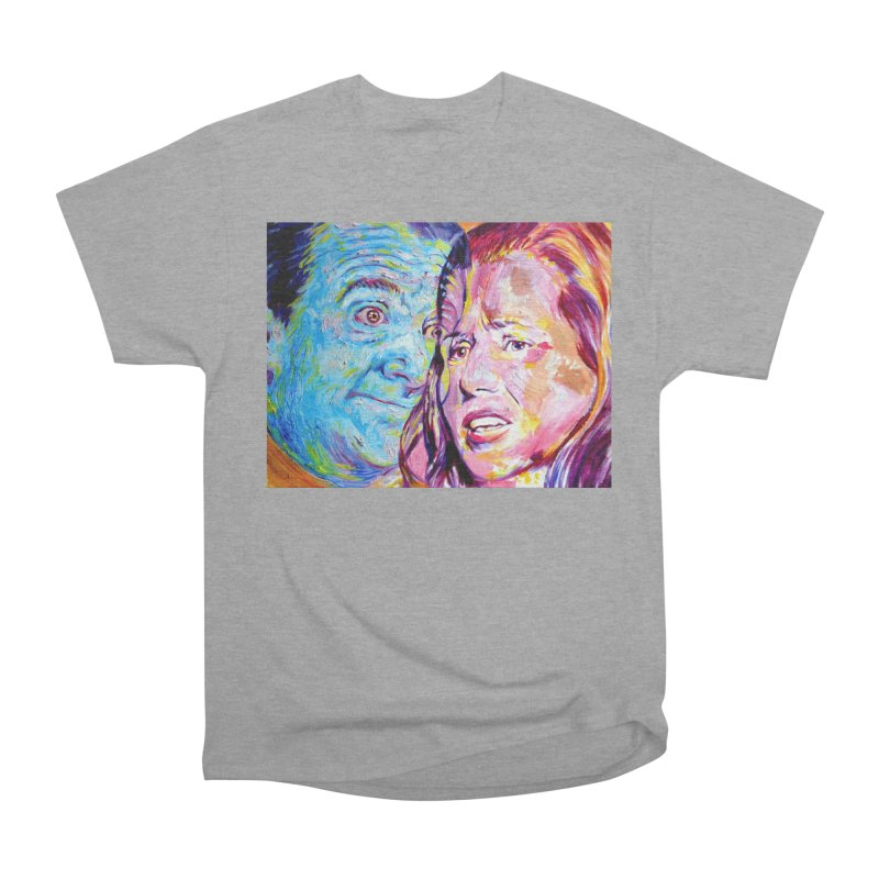 the exact moment Women's Heavyweight Unisex T-Shirt by paintings by Seamus Wray