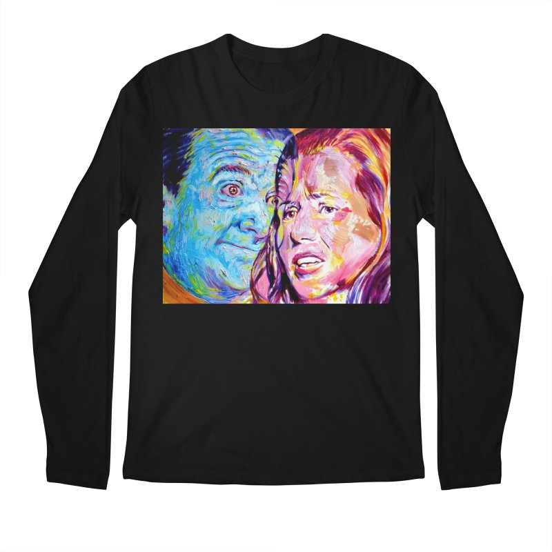 the exact moment Men's Regular Longsleeve T-Shirt by paintings by Seamus Wray