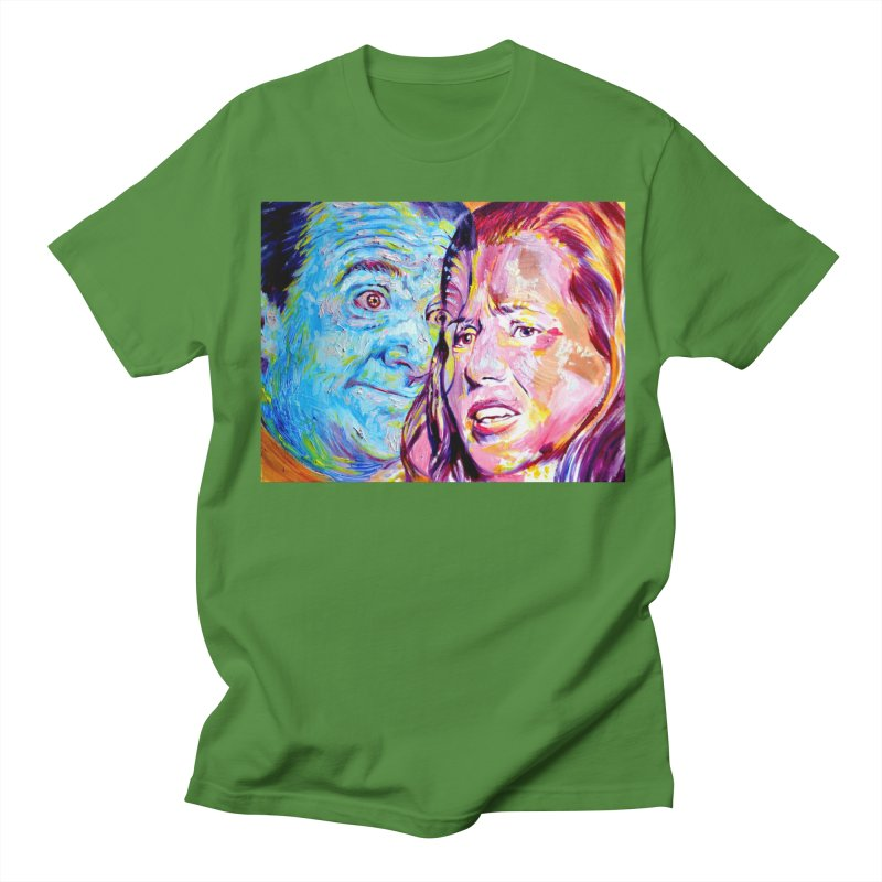 the exact moment Men's Regular T-Shirt by paintings by Seamus Wray