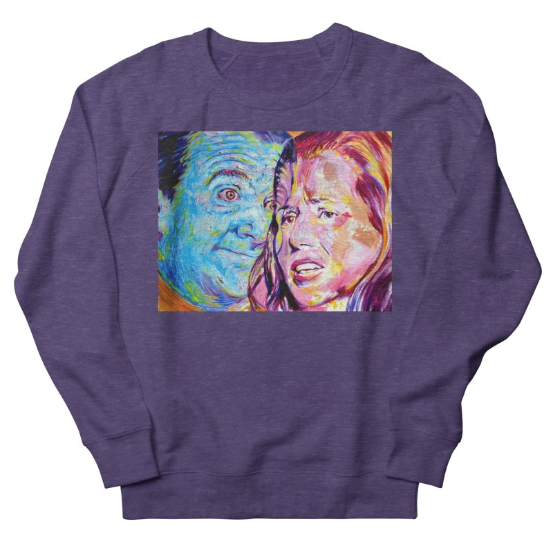 the exact moment Women's French Terry Sweatshirt by paintings by Seamus Wray