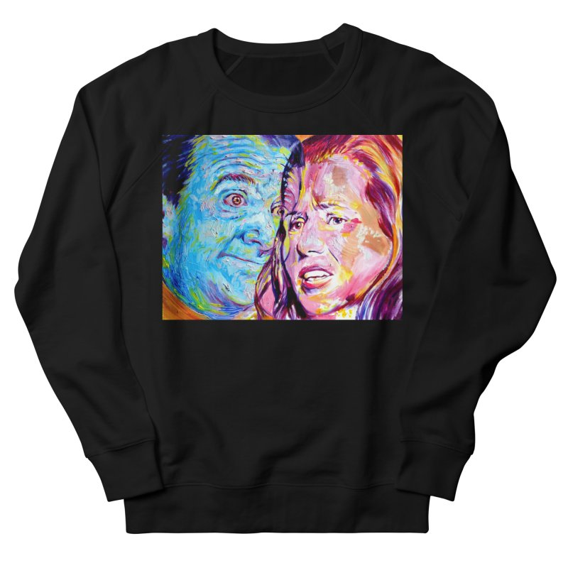the exact moment Men's French Terry Sweatshirt by paintings by Seamus Wray