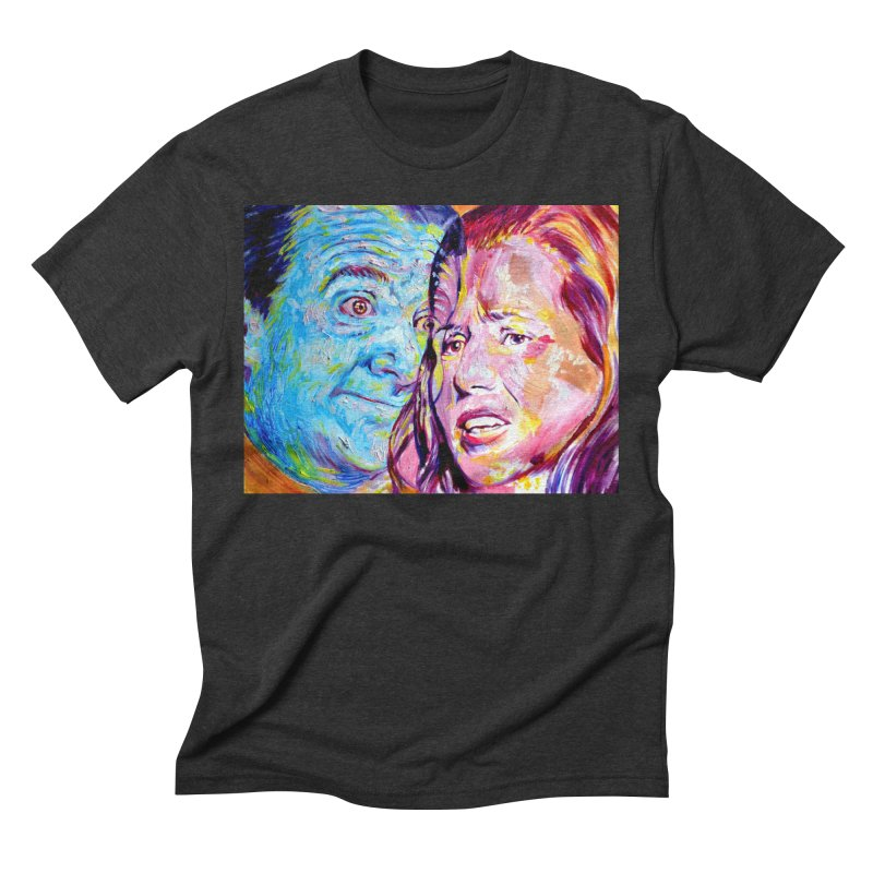 the exact moment Men's Triblend T-Shirt by paintings by Seamus Wray