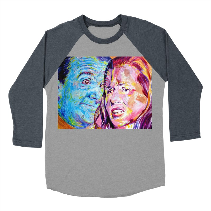 the exact moment Women's Baseball Triblend Longsleeve T-Shirt by paintings by Seamus Wray